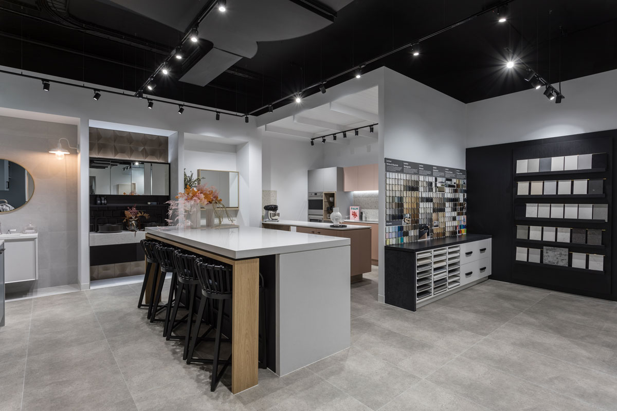 Borg Projects | Kitchen Showroom Internal Shopfitting Company | Carpentry | Joinery | Commercial Design | Newcastle | Build Interior | Sydney Western