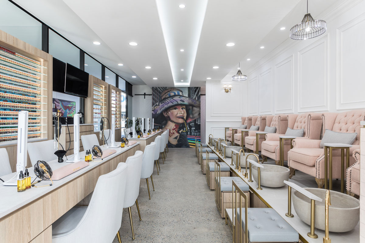 Borg Projects | Commercial Builder | Hairdresser | Hair and Beauty Salon Shopfitting | Fit out | Retail | Hospitality | Western Sydney | Wetherill Park | Nail | Wax | New York Style
