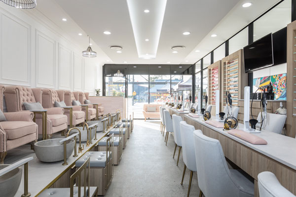 Borg Projects | Commercial Builder | Hairdresser | Hair and Beauty Salon Shopfitting | Fit out | Retail | Hospitality | Western Sydney | Wetherill Park | Nail | Wax | Custom Joinery